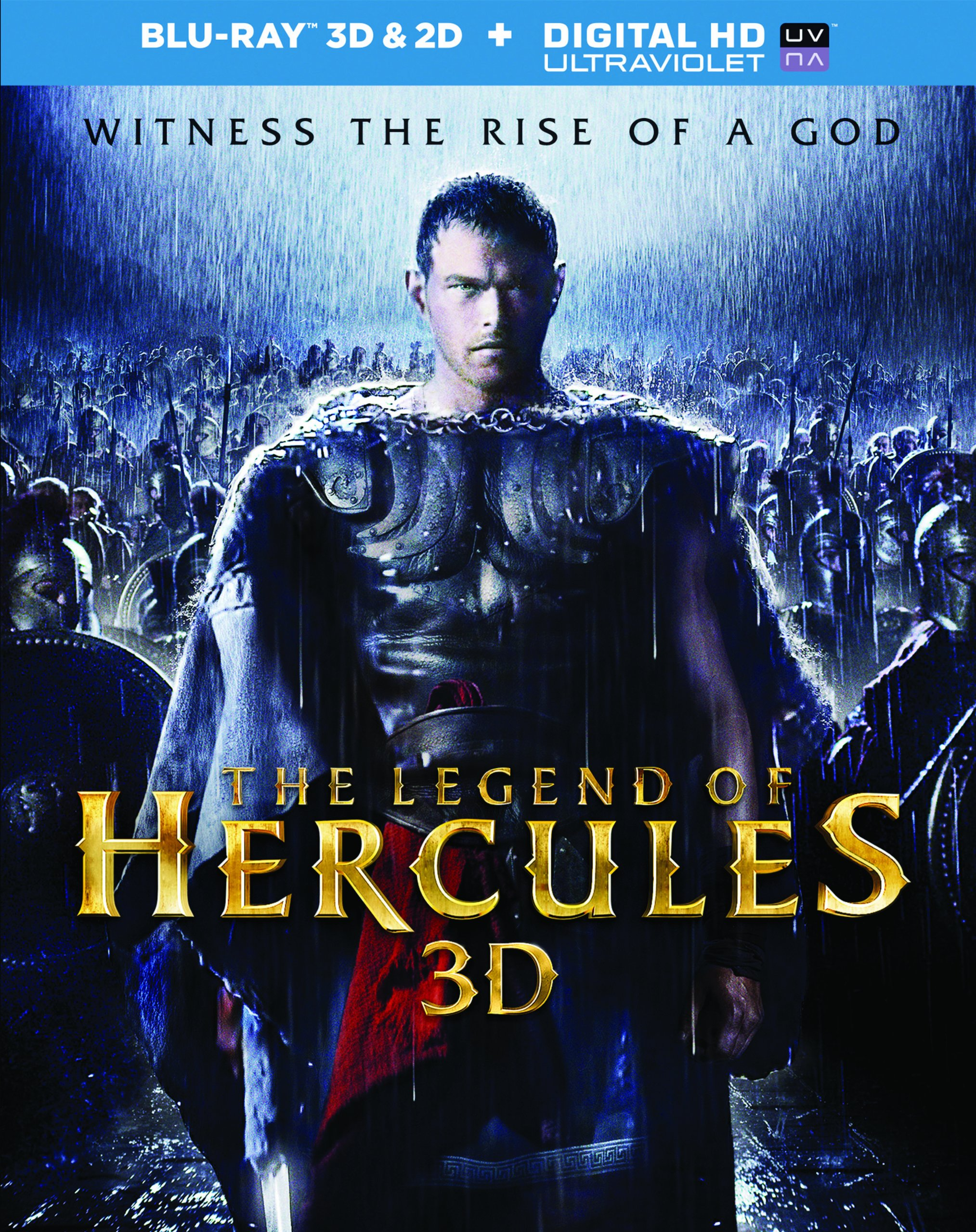 Blu-ray : The Legend of Hercules (Ultraviolet Digital Copy, 2 Pack, Dolby, Digital Theater System, AC-3)