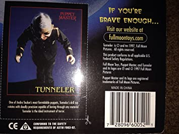 Amazon.com: Puppet Master Tunneler Figure: Toys & Games