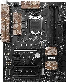 MSI LGA 1151 Intel Z270 HDMI SATA 6Gb/s ATX Motherboard