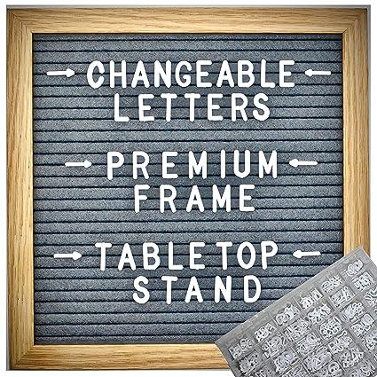 Tablero de fieltro para cartas de 10 x 10 + 460 letras ...