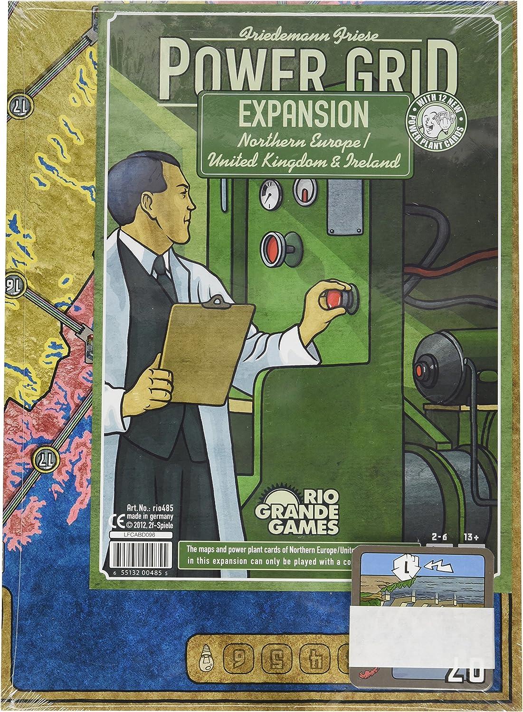 Power Grid - Juego de Tablero (Rio Grande Games RGG485) [Importado de Inglaterra]: Amazon.es: Juguetes y juegos
