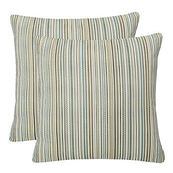 Amazon.com: Simpledecor fundas para almohadones, paquete de ...