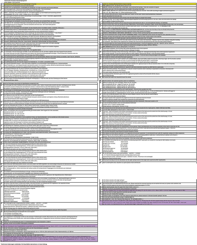H/&R Federn Tieferlegungsfedern 30 30 29501-2