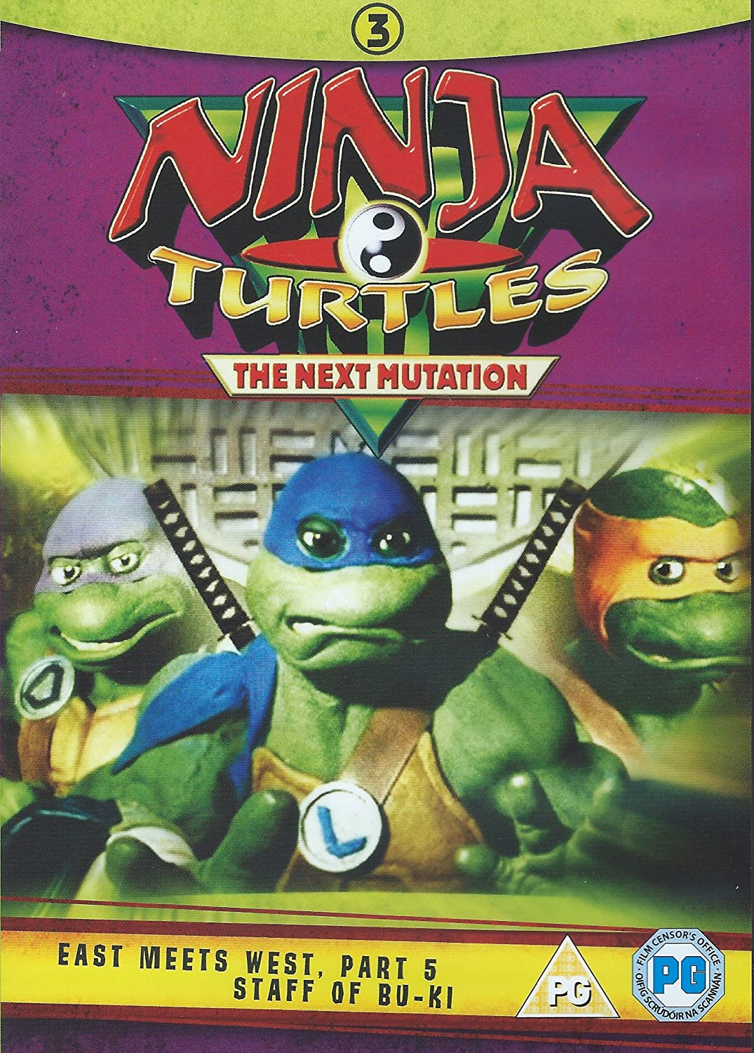 Amazon.com: Ninja Turtles 3 The Next Mutation East Meets ...