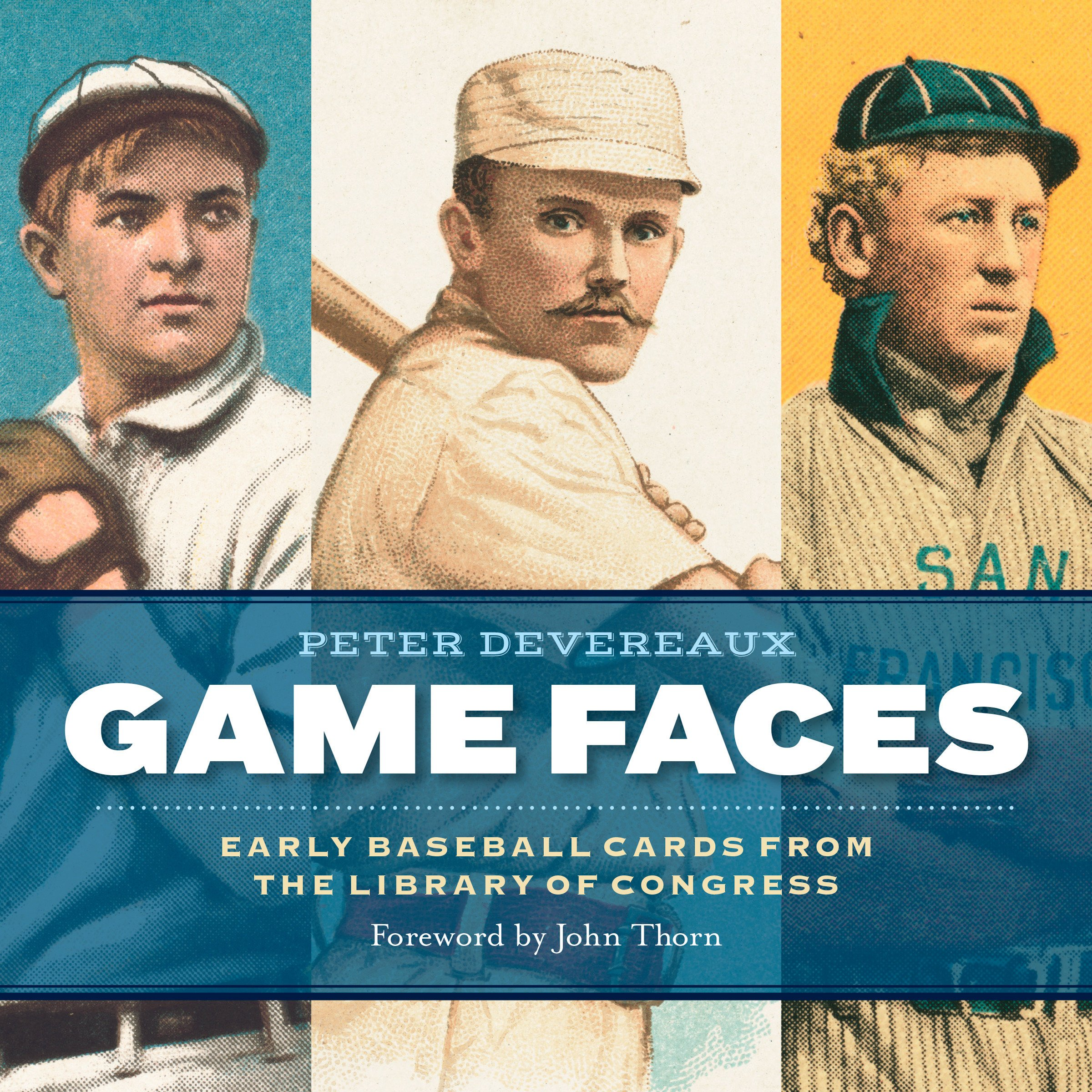 Game Faces  Early Baseball Cards From The Library Of Congress