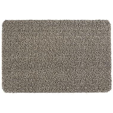 GrassWorx Clean Machine Flair Doormat, 24  x 36 , Earth Taupe (10372034)