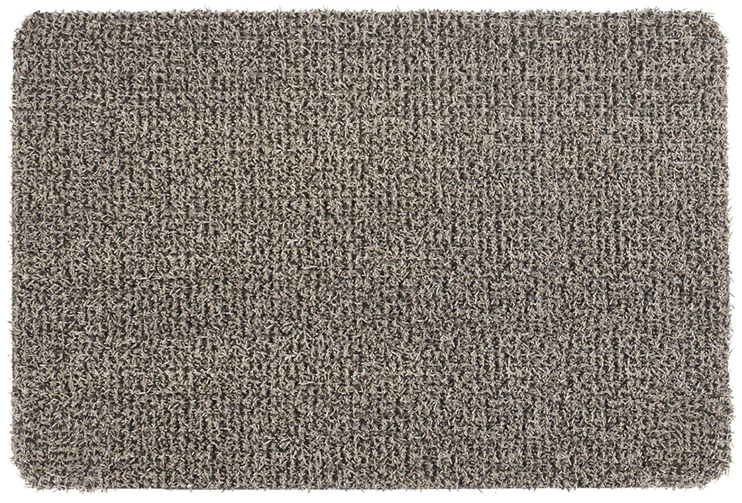 Grassworx Clean Machine Flair Doormat, 24'' x 36'', Earth Taupe (10372034)