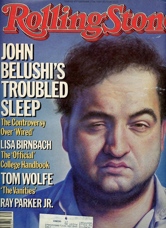 1984 Rolling Stone Magazine - John Belushi Cove at Amazon\'s ...