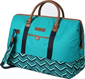Arctic Zone Hot/Cold Insulated Picnic Satchel, Teal