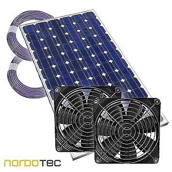 Compartiment De  Serre Ventilateur Solaire Ventilateur Plug  Play