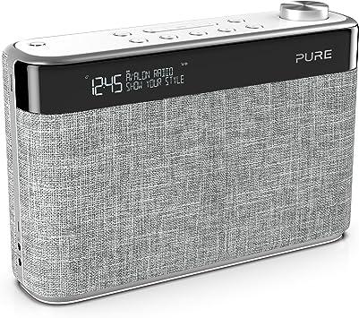 Pure Avalon N5 Bluetooth Digitalradio Dab Dab Und Ukw Radio Mit Bluetooth Pop Taste Zur Lautstärkeregelung Weckfunktionen Küchen Und Sleep Timer 10 Senderspeicherplätze Aux Pearl Grey Heimkino Tv Video