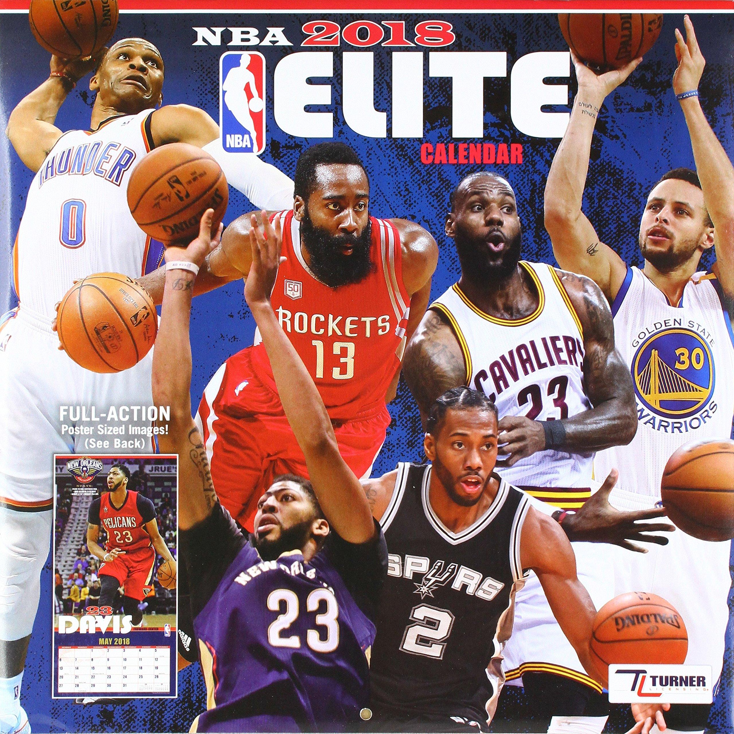 Download NBA Elite 2018 Calendar pdf
