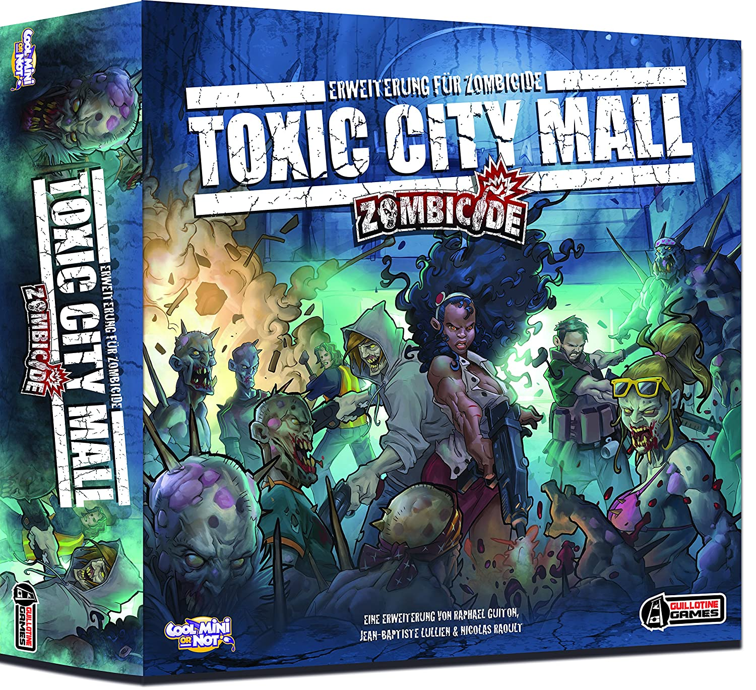 Cool Mini or Not 002287 - Zombicide - Toxic City Mall Erweiterung ...