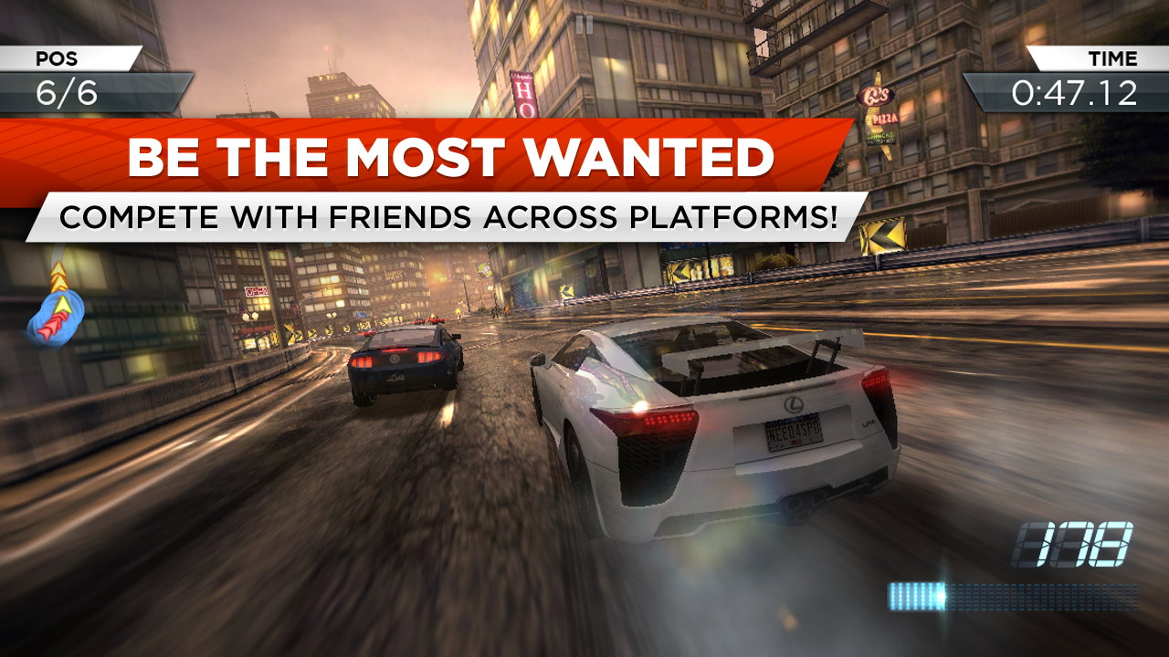 Amazon Com Need For Speed Most Wanted Appstore For Android