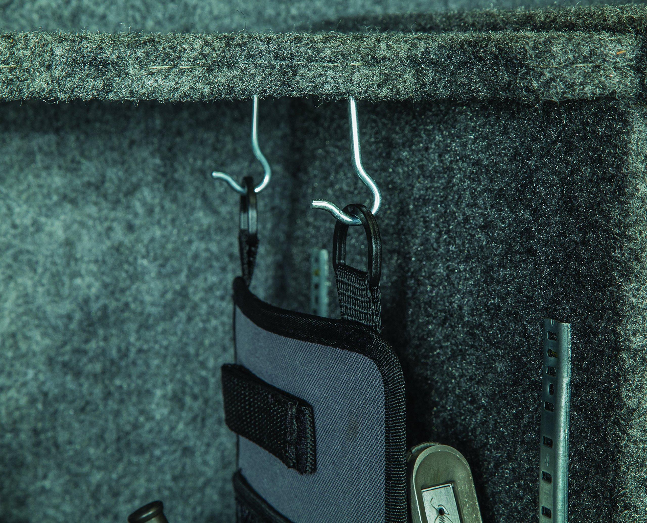 LOCKDOWN Handgun/Tactical Rifle Upper Hanger Gun Safe Organizer by LOCKDOWN (Image #4)