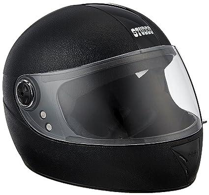 3bc19dc1 Studds Chrome Elite SUS_CEFFH_BLK Full Face Helmet (Black, XS): Amazon.in:  Car & Motorbike