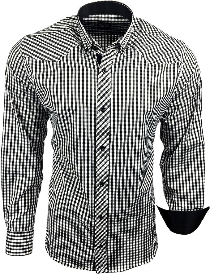 Rusty Neal Hombre Camisa De Manga Larga RN de 62 Polo Designs ...