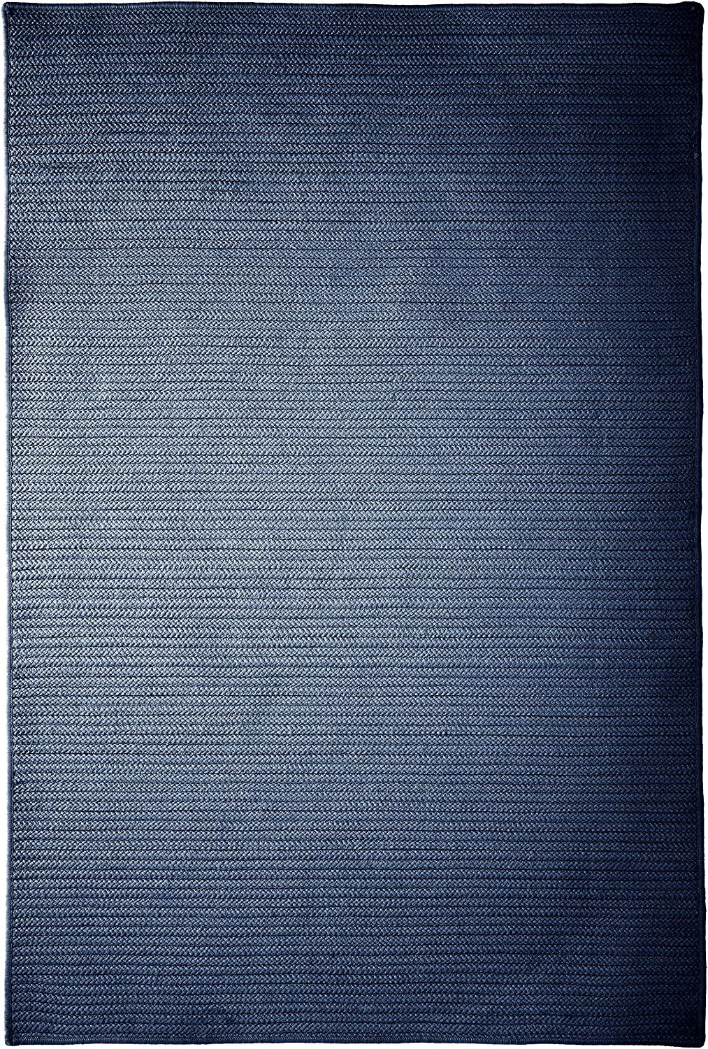 Simply Home Solid Sample Swatch Rug, Navy