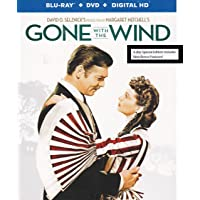 Gone With the Wind 75th Anniversary Blu-Ray + DVD + Digital HD (Walmart Exclusive)