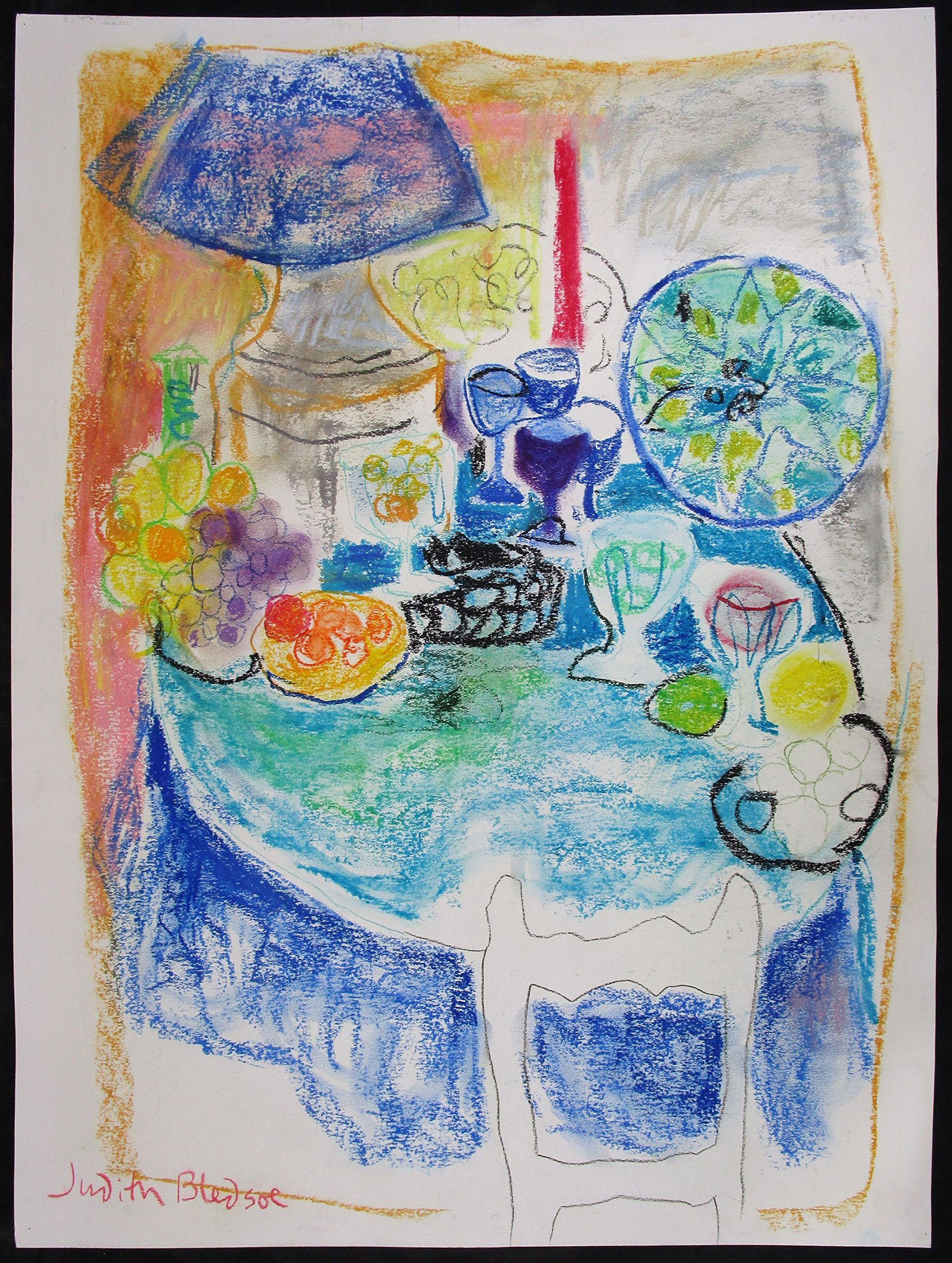 Blue Table at 5 O'Clock by
