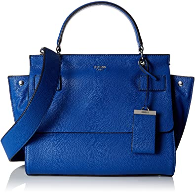 Guess Bags Hobo, Sacs portés main femme, Bleu (Blue Denim