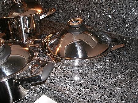 Set de cocina 12 Piezas Swiss AMC Tortilla sartenes cacerola ...