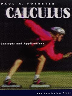 Calculus concepts and applications paul a foerster 9781559536547 calculus concepts and applications fandeluxe Gallery