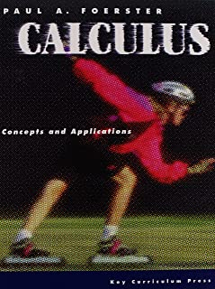 calculus concepts and applications solutions manual paul a rh amazon com Paul Foerster Textbooks Forest Paul