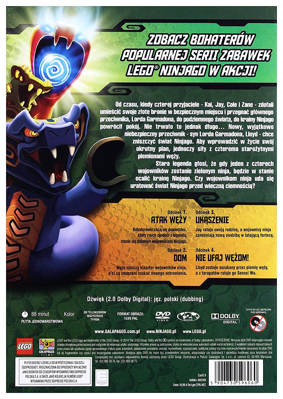 Lego Ninjago Dvd Region 2 Import No English Version Amazoncouk