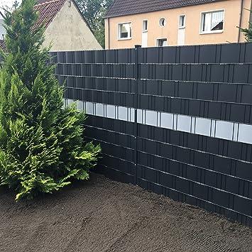 Profi Sichtschutz 50 Meter 1,1 mm PP Kunststoff anthrazit für ...