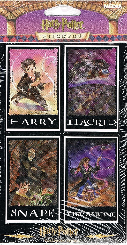 amazon com harry potter character portrait stickers harry potter character portrait stickers