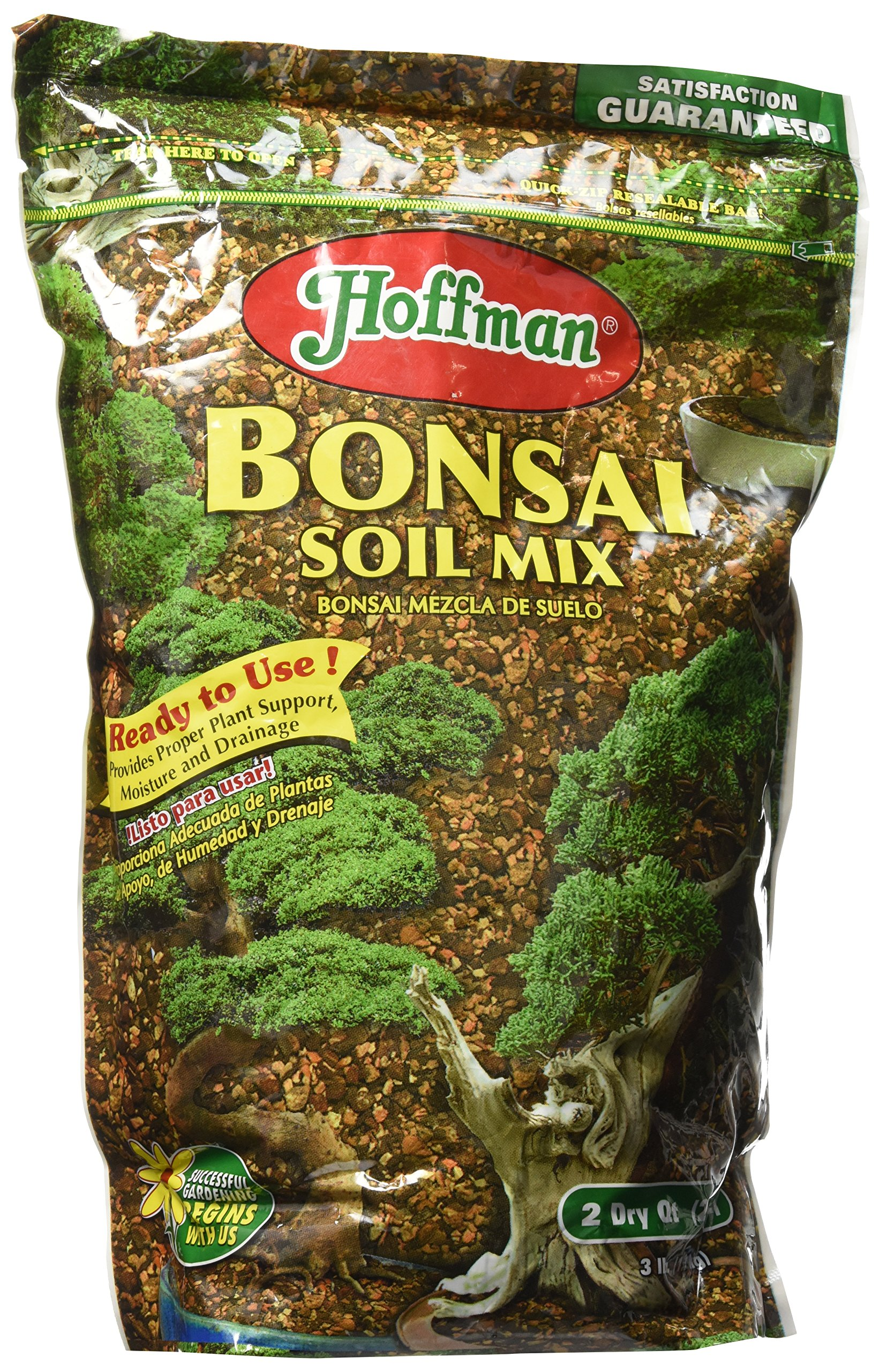 Hoffman 10708 Bonsai Soil Mix 2 Quarts 1 4