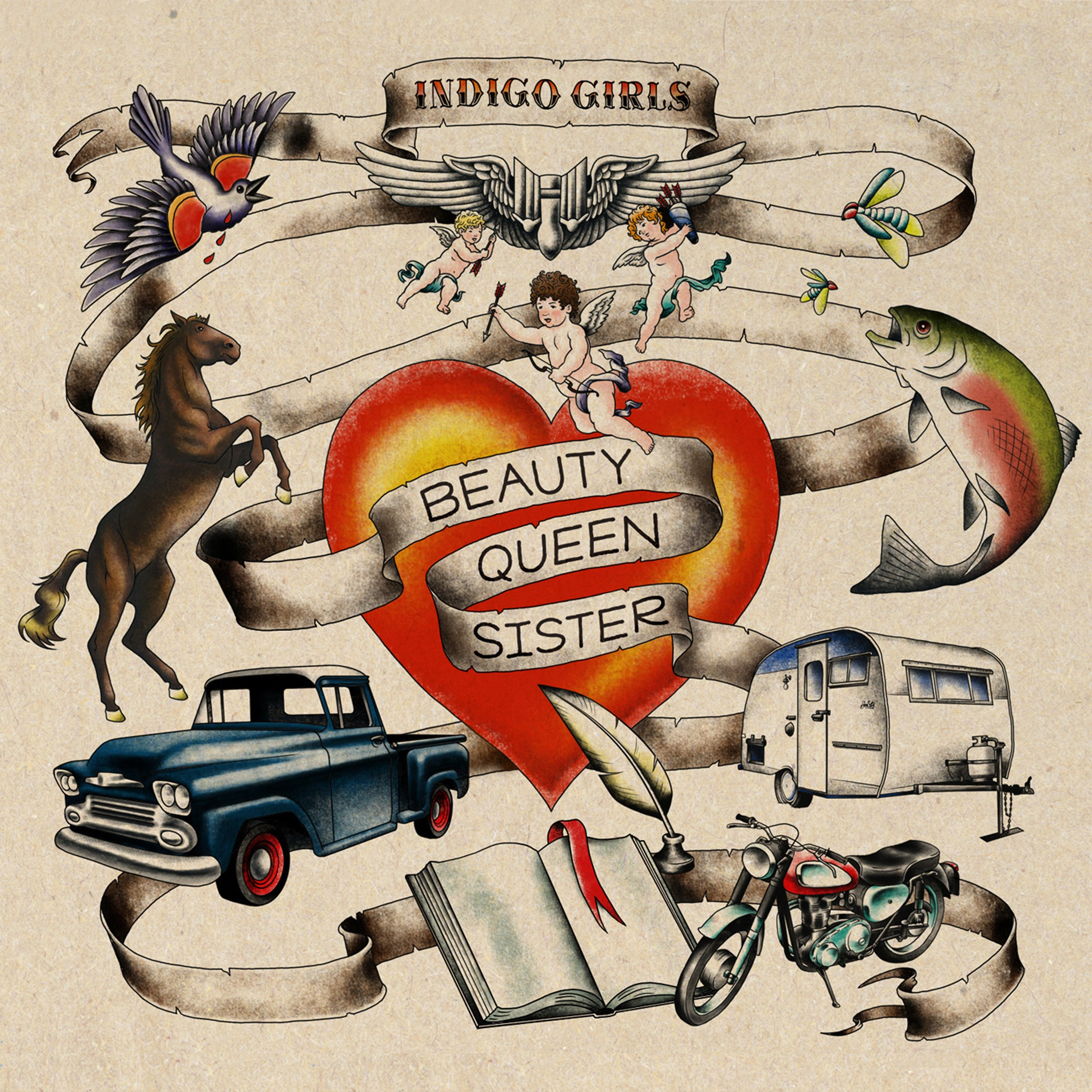 Beauty Queen Sister by IG Recordings / Vanguard Records
