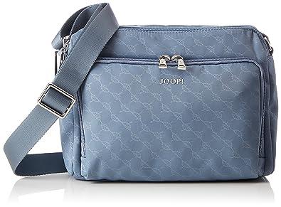 JOOP! Nylon Cornflower S Nella Shoulderbag Shz, Sacs portés épaule femme, Blau (Light Blue), 11x18x21 cm (B x H T)