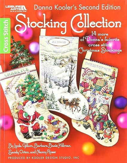 leisure arts christmas stocking book 2 - Cross Stitch Christmas Stockings