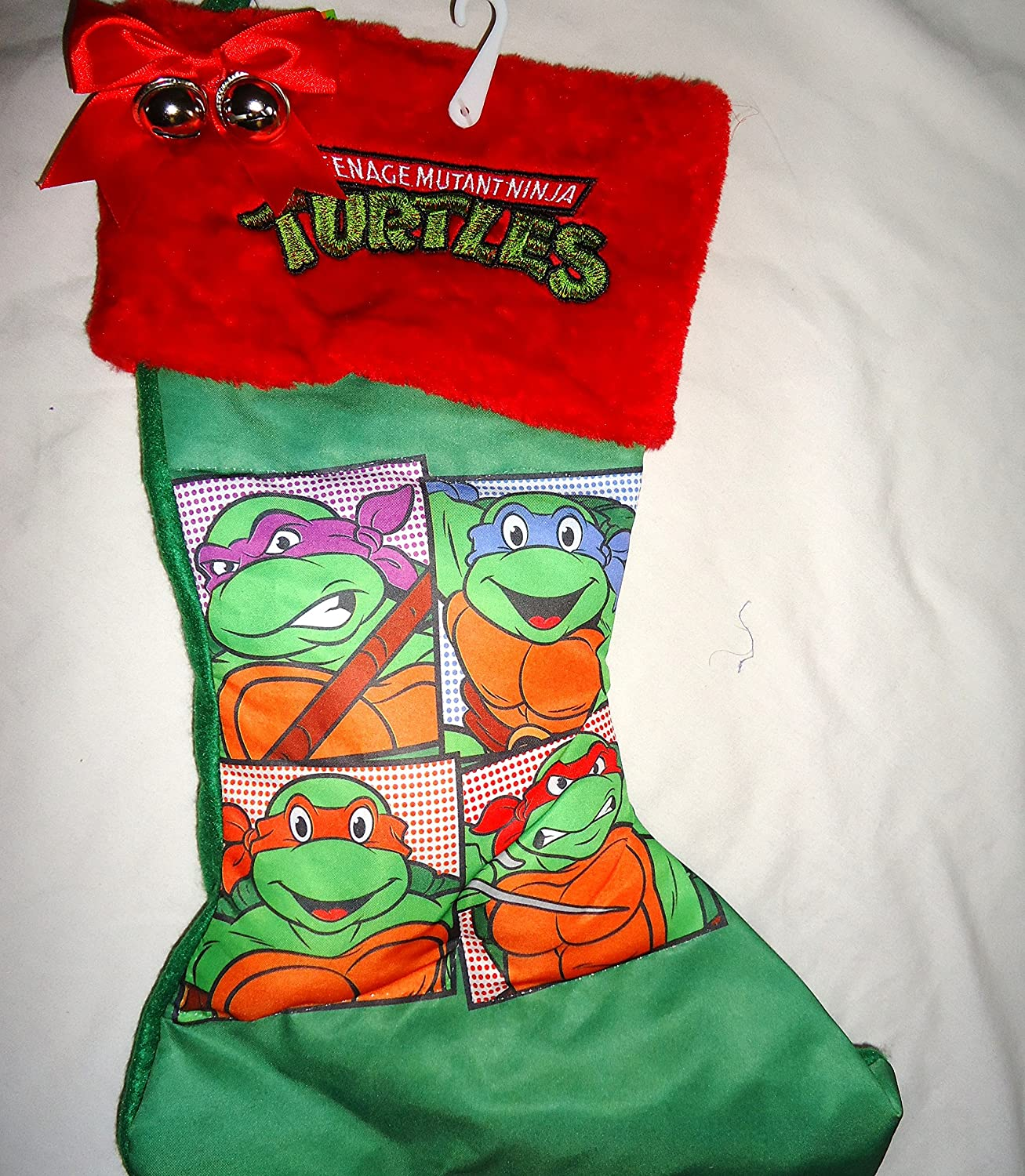Amazon.com: Teenage Mutant Ninja Turtles Christmas Stocking Tmnt 16 ...