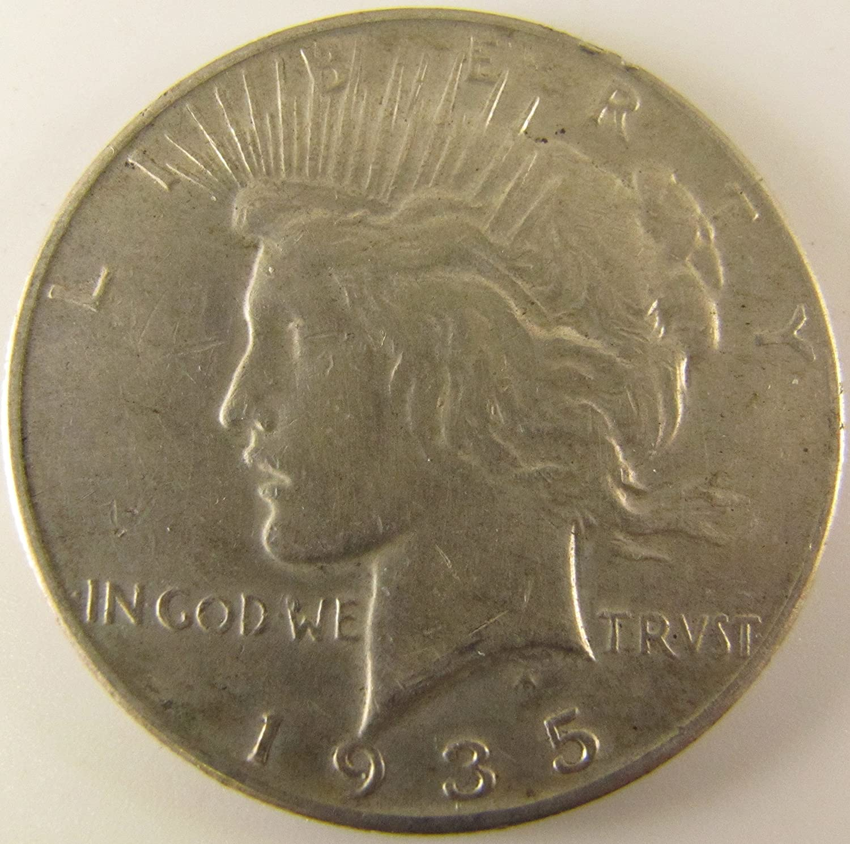 BU 1935-P Peace Dollar Brilliant Uncirculated