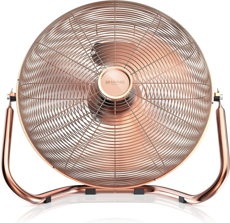 brandson – Retro viento máquina/Ventilador en cobre de diseño ...