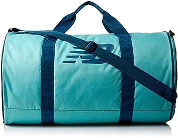 New Balance Adult Barrel Duffel Bag, Aquarius, One Size  New Balance ... 44bdf3eb51