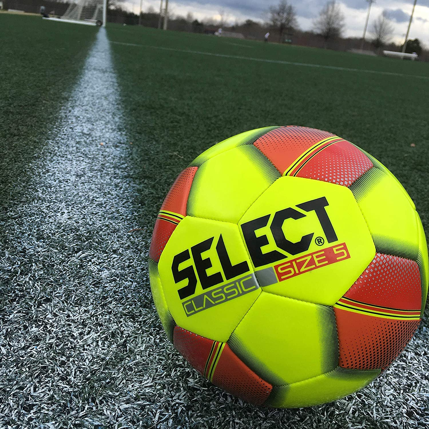 Size 3 Yellow Select Sport Select Classic Soccer Ball
