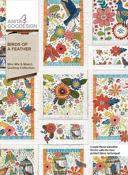 5d210d5c9d Amazon.com: Anita Goodesign Embroidery Designs Birds of a Feather