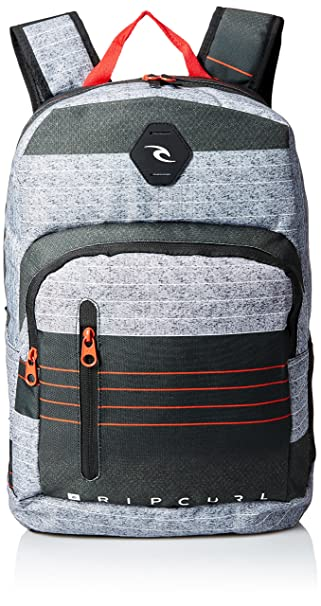 Rip Curl Unisex de Batería Ripper rayas mochila - Rojo -: Amazon.es: Ropa y accesorios