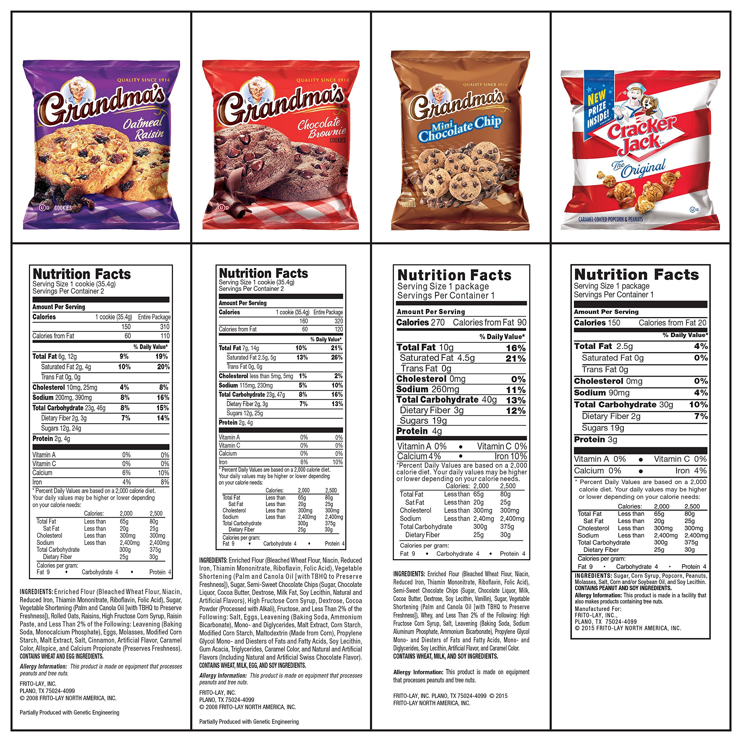 Ultimate Snack Care Package, Variety Assortment of Chips, Cookies, Crackers & More, 40 Count by Frito Lay (Image #6)