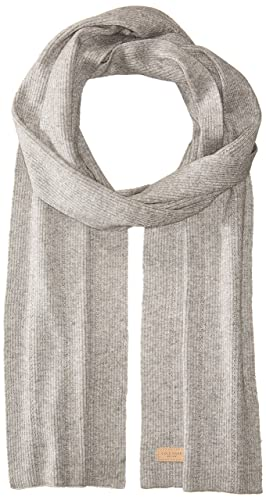 f111bb4a2be Cole Haan Women's Rib Pointelle Muffler, light heather grey One Size at  Amazon Women's Clothing store: