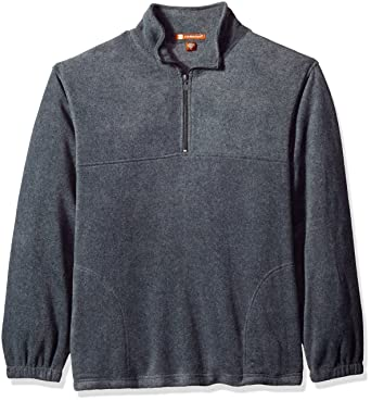 Quarter-Zip Fleece Pullover - BLACK - S 8 oz. Quarter-Zip Fleece ... 7a2831df2847