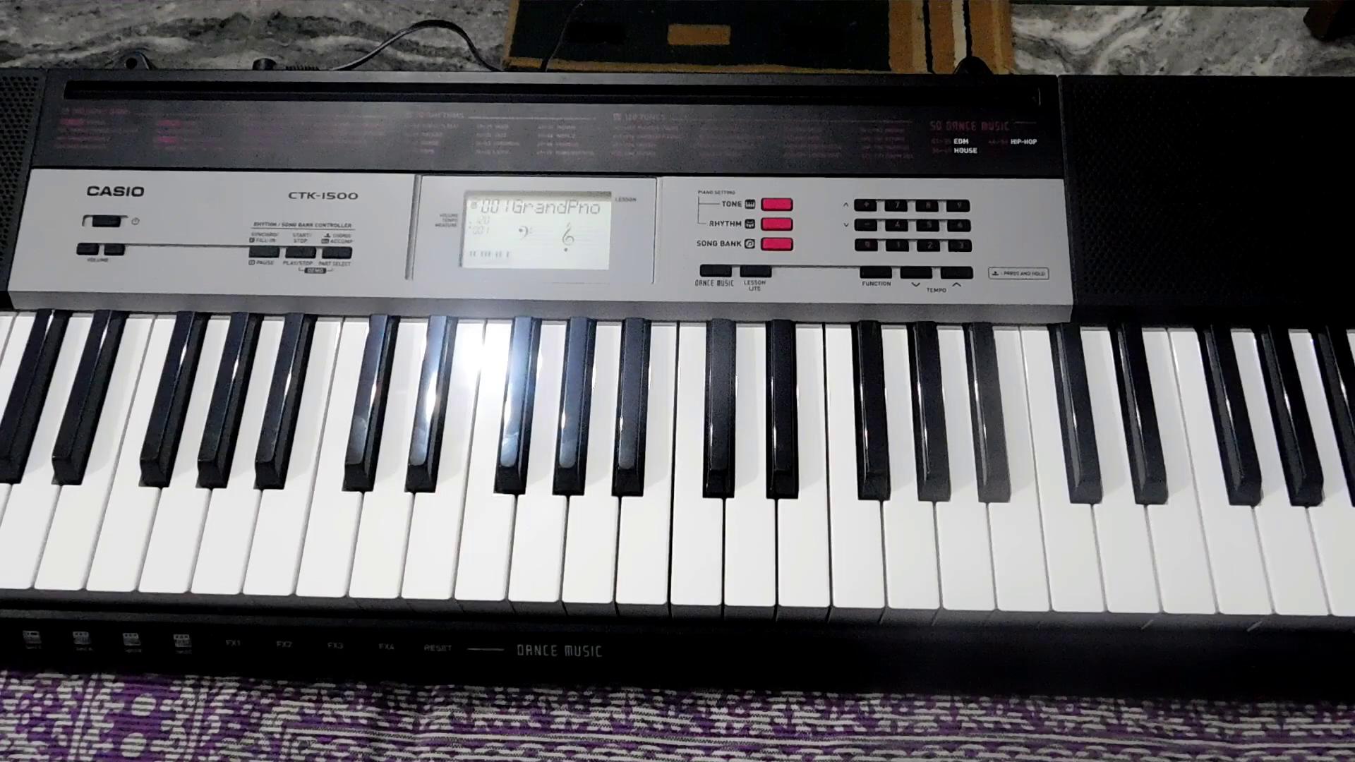 casio ctk 1500 61 key keyboard musical instruments