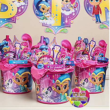 Amazon Shimmer Shine Inspired 3 Pre Filled Party Favors