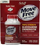 Move Free Joint Health Advanced Glucosamine Chondroitin Supplement, 170 Count