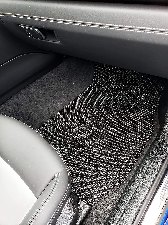 All Weather Heavy Duty Floor Mat Set Custom Fit Car Floor Mat for 2012-2018 Audi A6 Sedan
