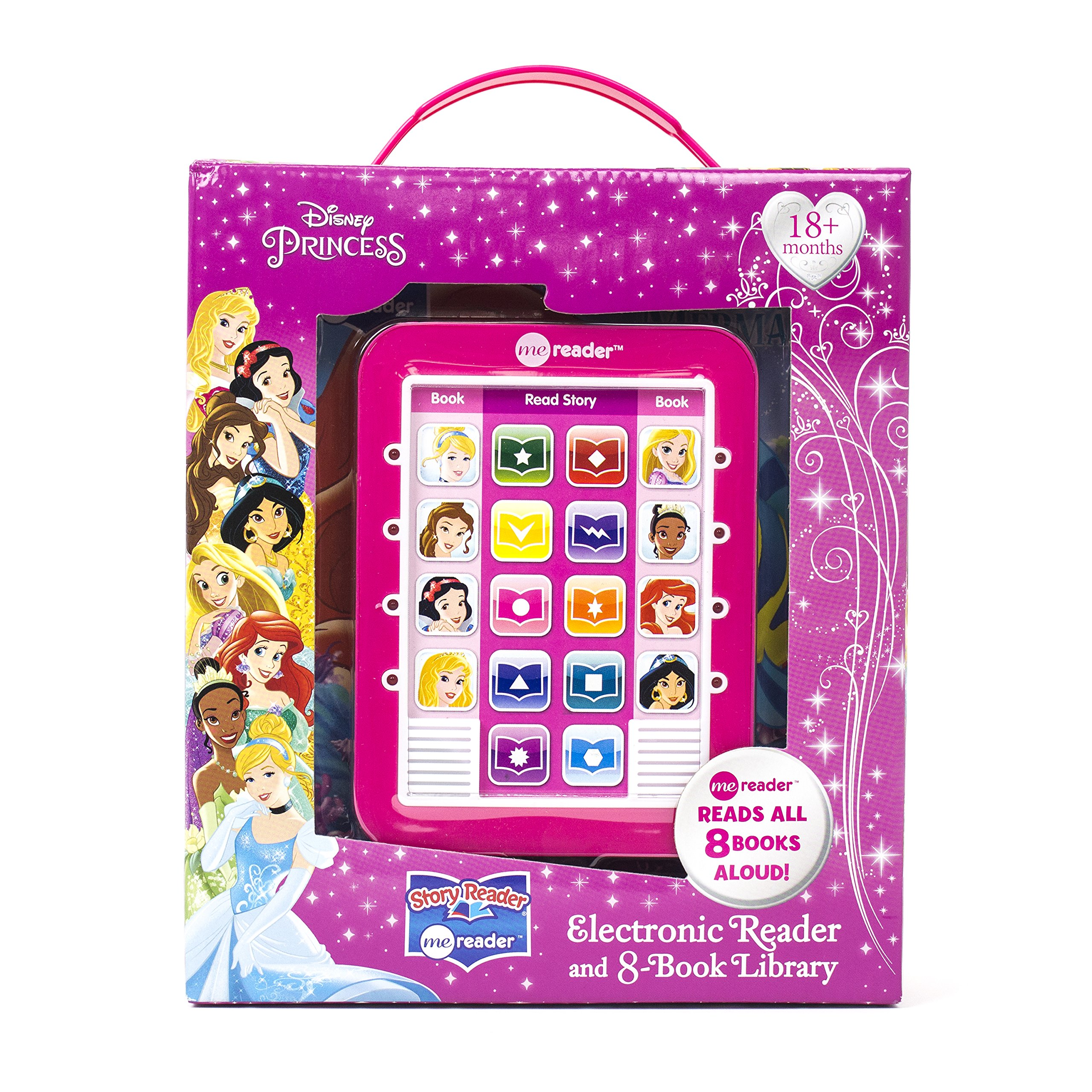 Disney Princess - Me reader Electronic Reader and 8-Book Library - PI Kids